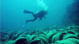 Rubber Tires in the Sea: Actually Not a Great Idea