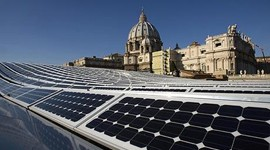 The Vatican Has Gone Green!
