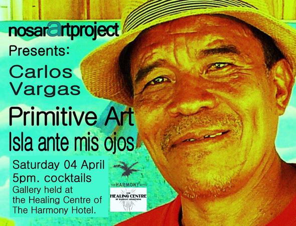 Carlos Vargas art show