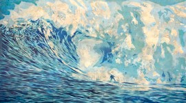 Surfrider Gets Artists to Paint Epic Waves