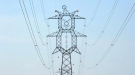 A little different transmission tower