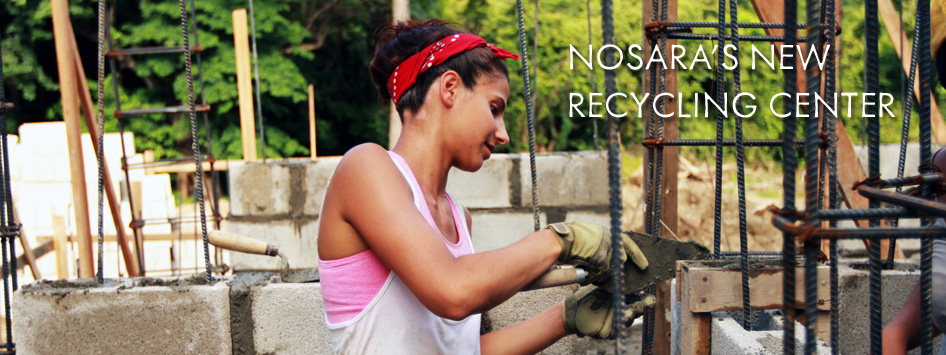 Nosara's New Recycling Center
