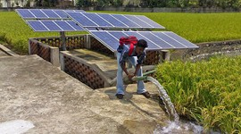 Solar-Powered Irrigation for Farmers