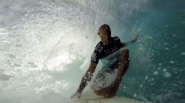 Join Kelly Slater in a Pipe Master Barrel