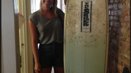 SURFING IS... WITH LEAH GREENBLATT