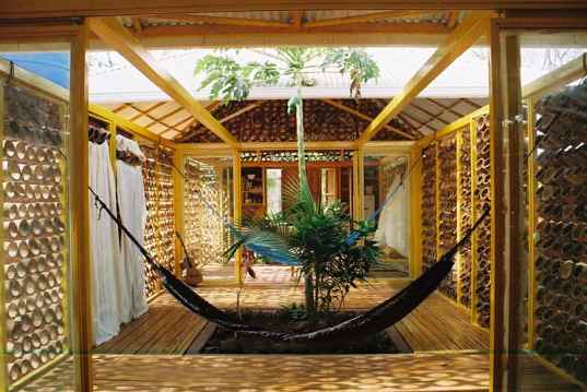 Bamboo-House